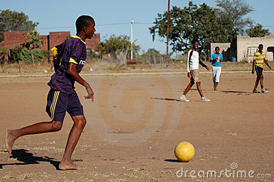 African football game