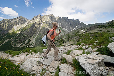 Hiking in Tatra Mountains, Slovakia