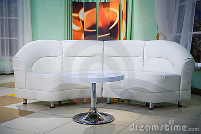 Interior sofa and table