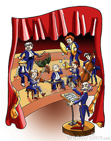 Concert of music