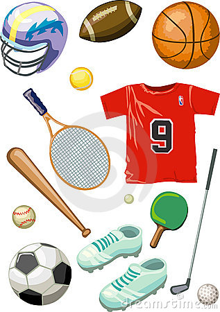 Baseball, ping-pong, tennis, basketball, golf