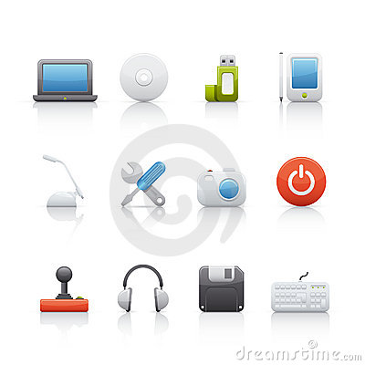 Icon Set - Computer Equipament