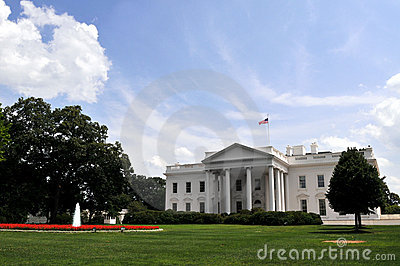 White House on Independence Day