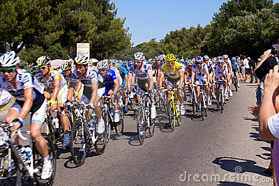 Riders in Tour de France 2009