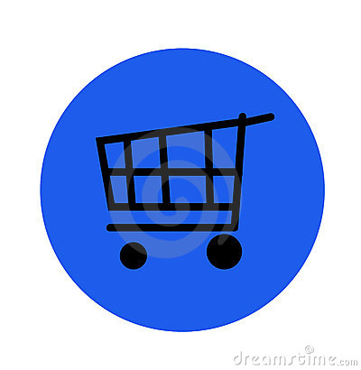 Internet shopping cart button