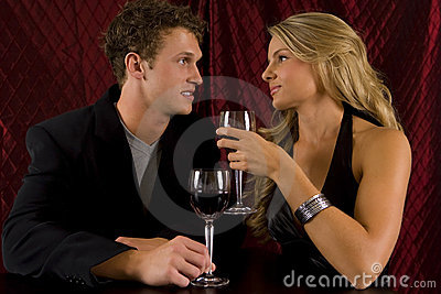 Couple wine
