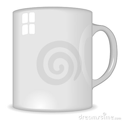 Blank traditional cup
