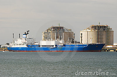 Carrier ship i factory in Spain