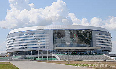Minsk Ice Hockey Arena, Belarus