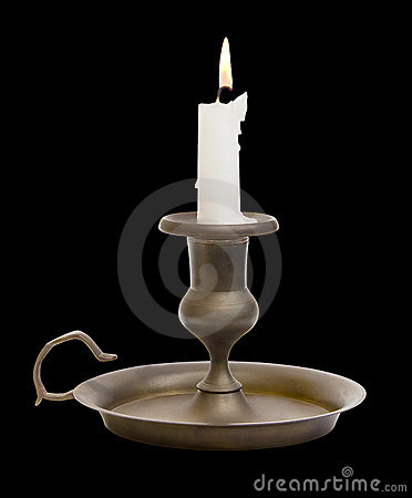 Candle Holder with Clipping Path