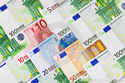 Euro money background