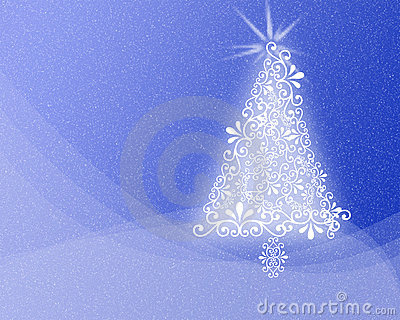 Patterned Christmas background Xmas tree design