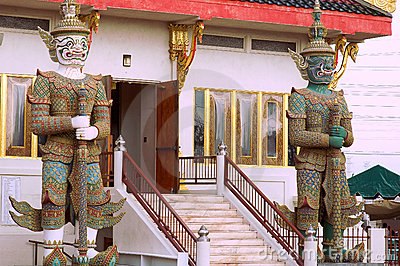 Guarding the wat