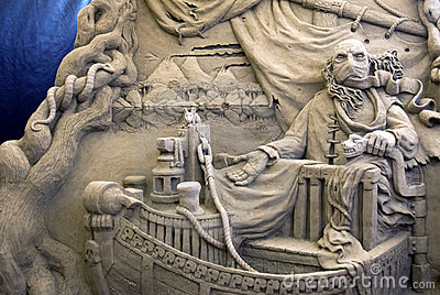 Sand Sculptures - Charon