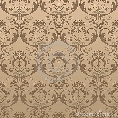Vector pattern in vintage style
