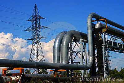 Industrial pipelines and electrical cables