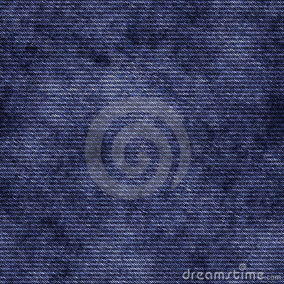 Seamless blue jeans texture