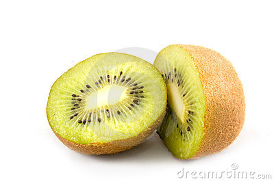 Parts of a kiwi isolated