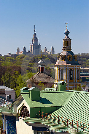 The Moscow landscape