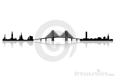 New oresund region skyline