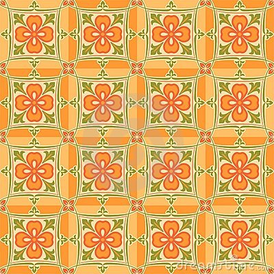 East orange patterns