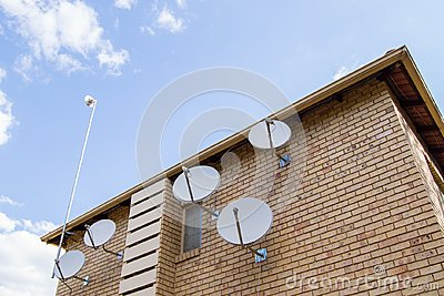 Satellite Dishes House