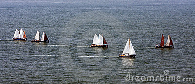 Sailing on sea