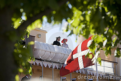 The royal couple of Denmark