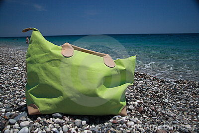 Beach bag, summer holiday dreams