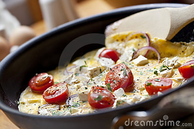 Cooking Omelet
