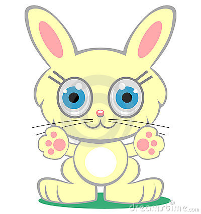 Cartoon bunny