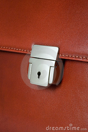 Business brief-case key lock