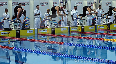 25th Universiade Belgrade 2009 - Swimming