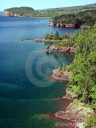 Shore of Lake Superior