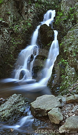 New York State Secluded Waterfall