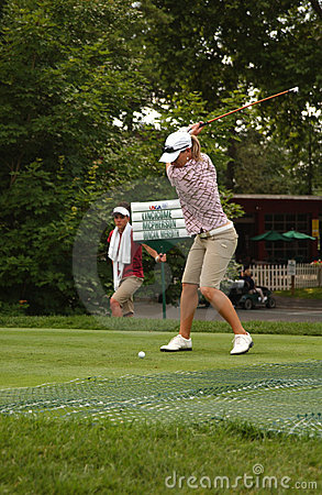 Kristy McPherson at USGA Women's Open