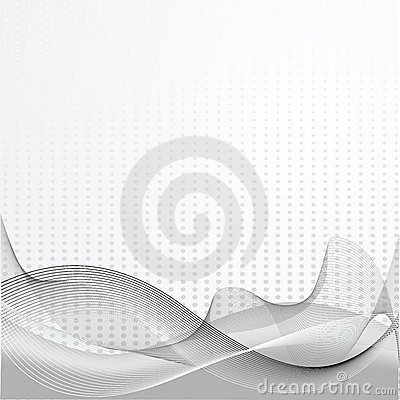 Grey abstract composition
