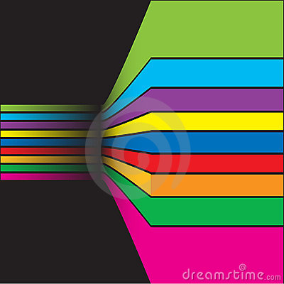 Colorful abstract background composition