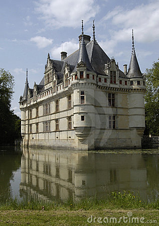 Castle of Azay-le-Rideau,