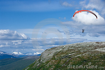 Paragliding in Norway