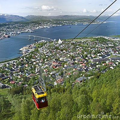 Cable car at Tromso, Norway