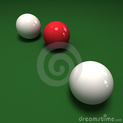 Double cue ball