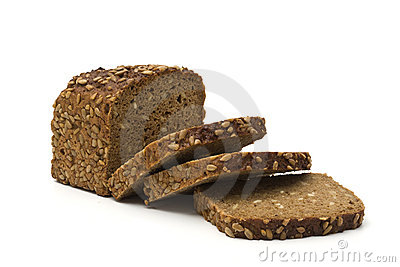 Whole grain brown bread
