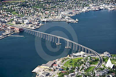 Tromso bridge
