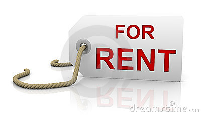 For rent tag in right position