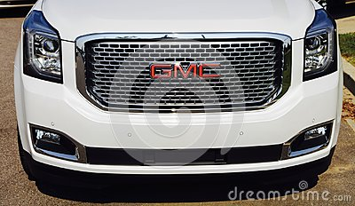 GMC SUV front end