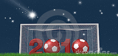 Soccer new year night version