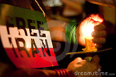 DC Vigil for Iran