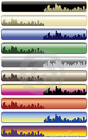 City Web Banners