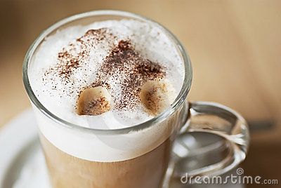 Coffee latte machiatto